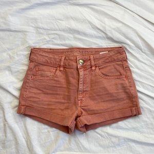 AMERICAN EAGLE pink shorts
